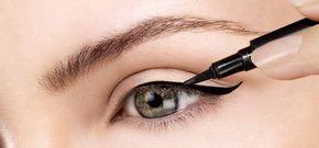 Trucchi e consigli per applicare l'eyeliner in modo impeccabile #applicare #eyeliner #trucchi #modi #consigli #cucchiaio #schotch #tipi #makeup #trucco #occhi