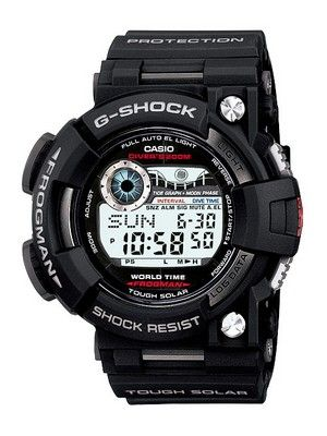 Casio Frogman G-Shock Tough Solar GF-1000-1DR GF-1000-1 GF1000-1 Men's Watch