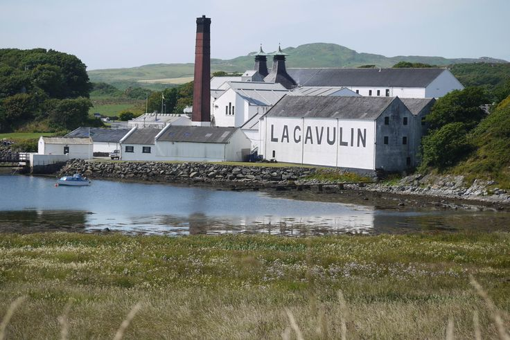 The Lagavulin distillery began life as an illegal still at least as far back as the 18th century, the present legal distillery was founded in the early 19th century.   Islay Island (Queen of the Hebrides), Scotland