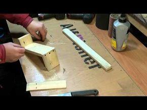 Основная задача для этого изделия - ПРОСТОТА ИЗГОТОВЛЕНИЯ. Самодельная точилка с фиксированным углом, для заточки кухонных ножей. Материал - сосновая доска и...
