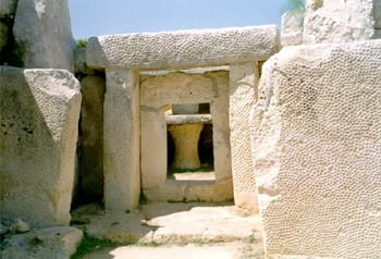 Hagar Qim Temple, Malta, Among the world's oldest religious buildings from 3600-3200 BC (photo AN)