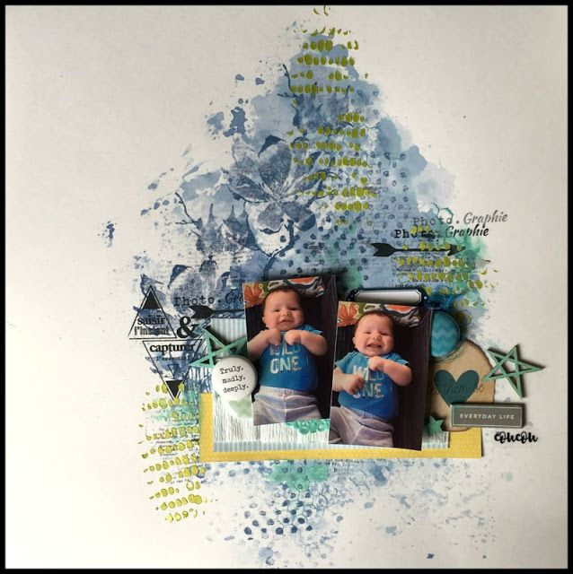 Accent Scrapbooking: Truly madly deeply par Caroliiine