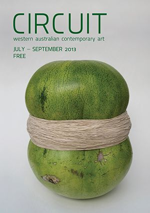 Jul - Sep 2013 CIRCUIT  Work featured on cover: Nellie Rogerson, (bomb) (2012)  watermelon, rubber bands, dimensions variable. Courtesy of the artist