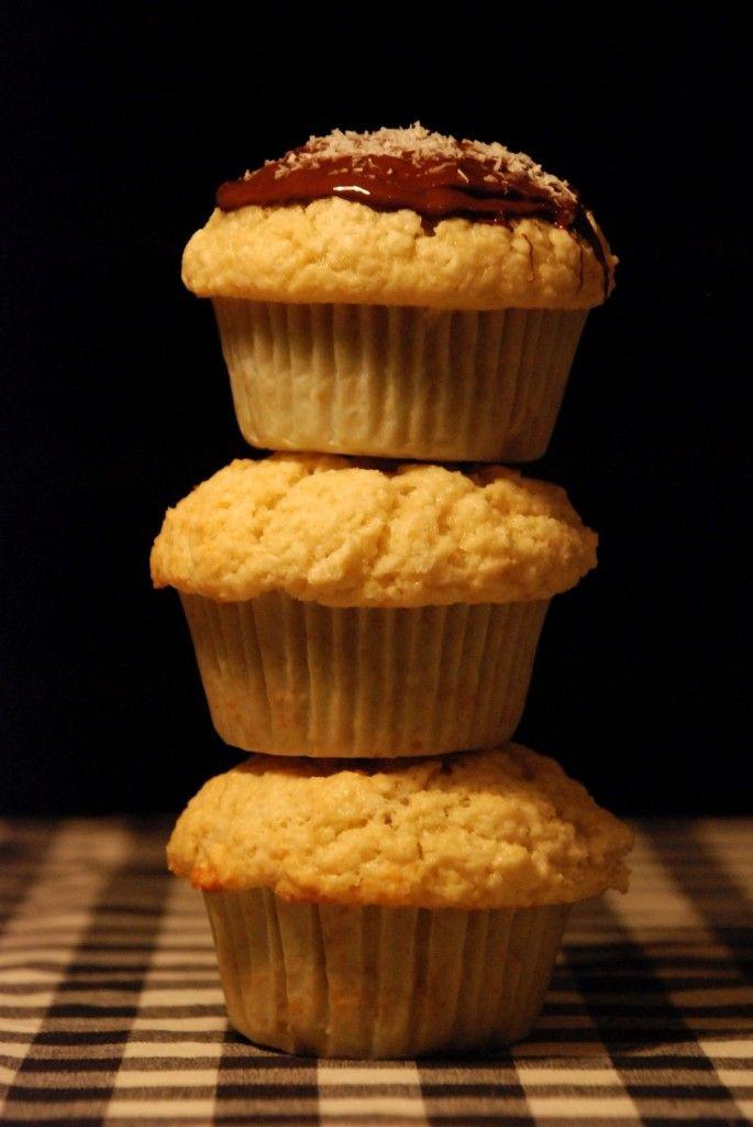 Kokosové muffiny - recept