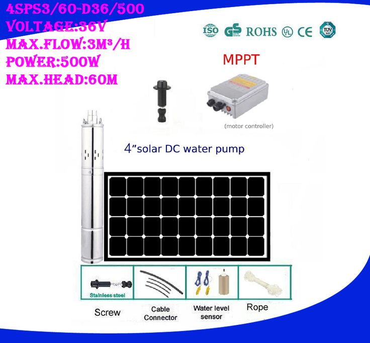 Free Shipping Solar Water Pump 60m Agricultural Irrigation With Battery Option 5 Years Warranty 4sps3 0 6 Solar Water Pump Solar Powered Water Pump Water Pumps