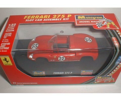 Revell-Monogram RMX Ferrari 275P No. 22 - RMX 1:32 Scale Slot Car Kit - Prestige Hobbies