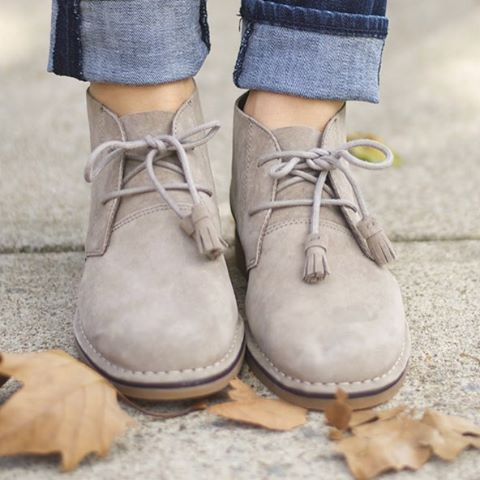 Cyra Catelyn booties by Hushpuppies shoes | so in love