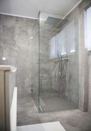 Beton Cire Dusche