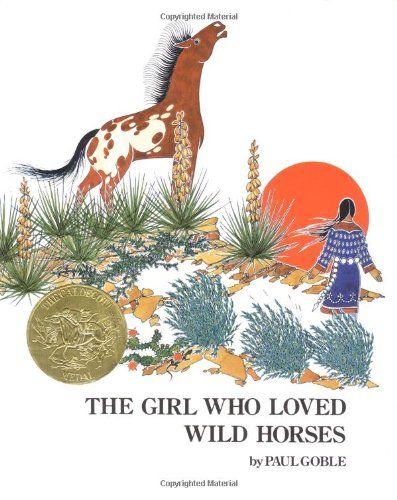 Girl Who Loved Wild Horses (Richard Jackson Books (Atheneum Hardcover)) by Paul Goble http://www.amazon.com/dp/0689845049/ref=cm_sw_r_pi_dp_S-IMtb0XVAW5GDPV