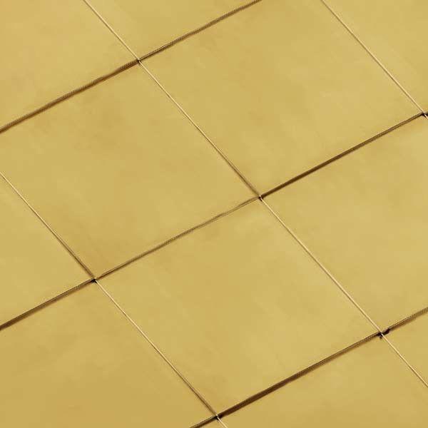 Фальцевая кровля из меди KME серии Tecu Gold