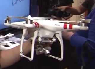 NAB 2014: DJI Phantom 2 Vision + Quadcopter Drone (video)