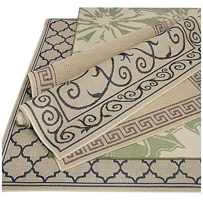 5' x 7' Outdoor Patio Rugs at Big Lots for $31.49 each.