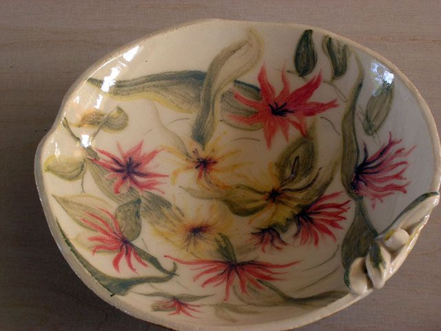 Lukia`s painted bowl.