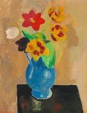 Olaf Rude Still life, 1921