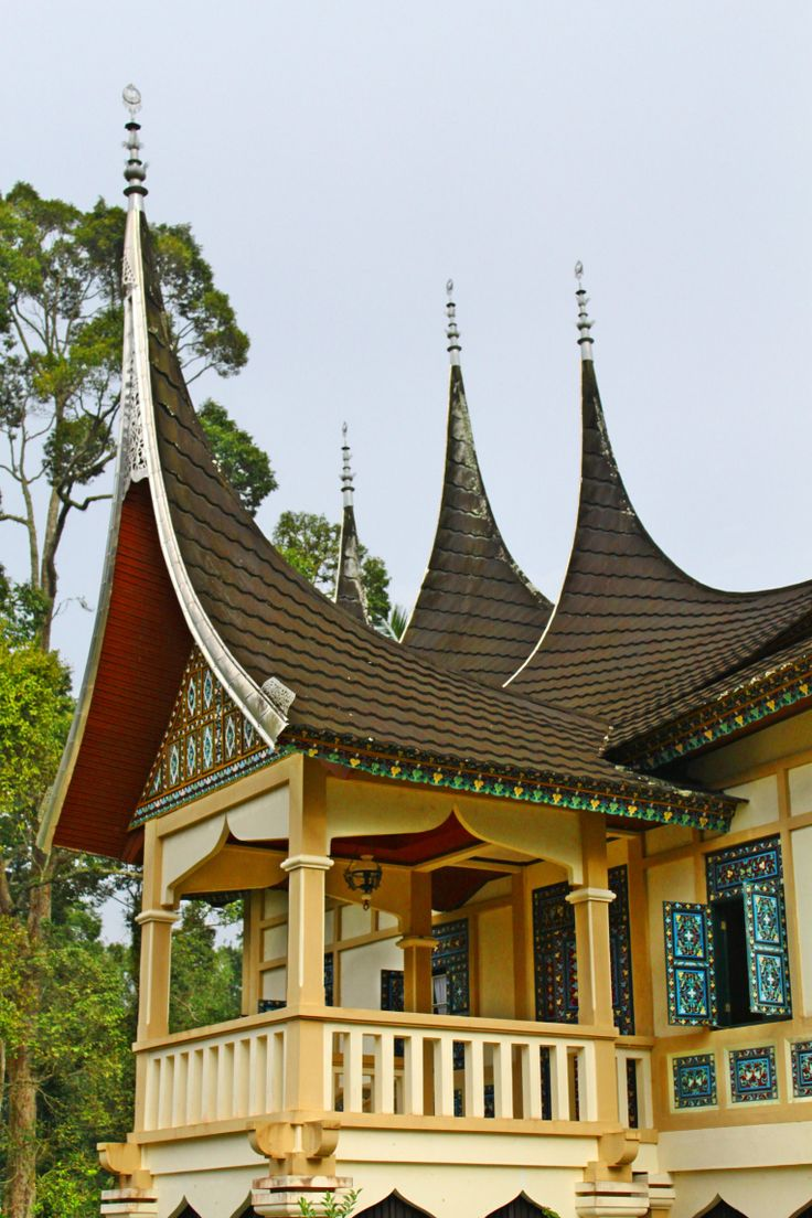Rumah Gadang - The traditional house of Indonesia's Minangkabau