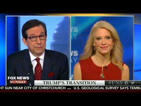 Fox News Sunday | Nov 13, 2016 | Interview w/ Kellyanne Conway, Kevin Mc...