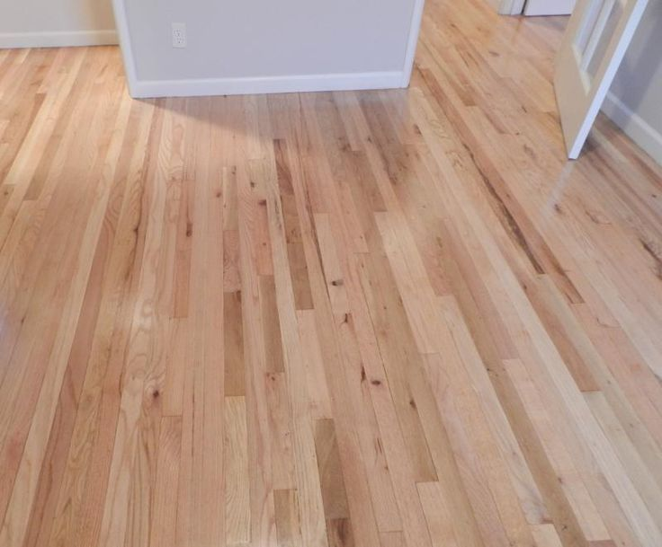 Natural water base red oak floors google search for Red oak hardwood flooring