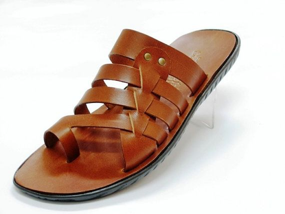 Greek Top Quality Leather Sandals by topshoes on Etsy, $50.00