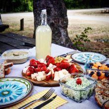 Fresh lemonade - perfect for a summer picnic