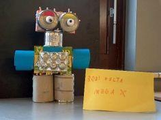 Roboter - Basteln mit Müll
