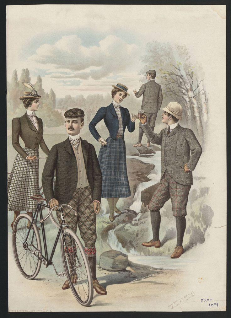 1899 Fashion Plate