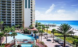Groupon - Stay at Shores of Panama by Emerald View Resorts in Panama City Beach, FL, with Dates into May in Panama City Beach, FL. Groupon deal price: $118.30