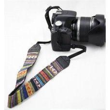 Retró nyakpánt, szíj fényképezőhöz, videó kamerához - véd a leesés ellen - remek fotós ajándék