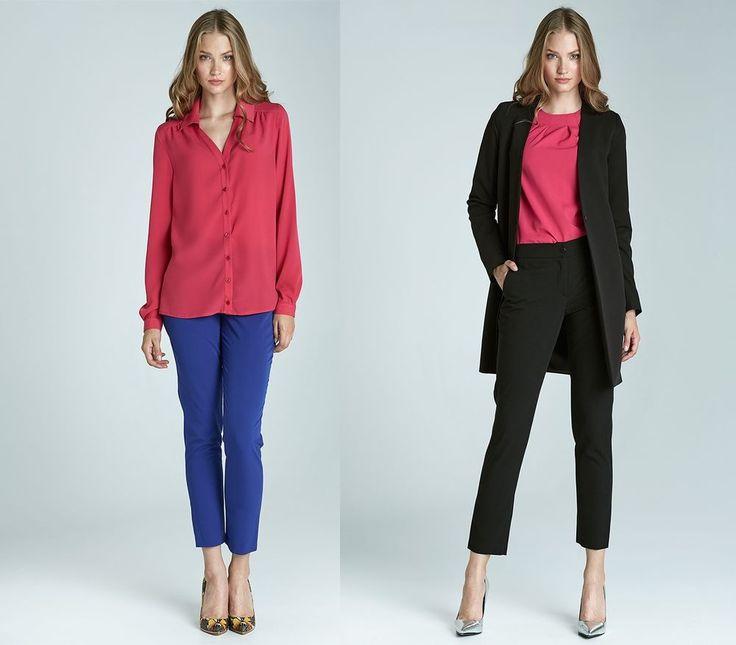 Pantalon habillé mode élégant femme droit Chic SD22 NIFE XS/S/M/L/XL/2XL