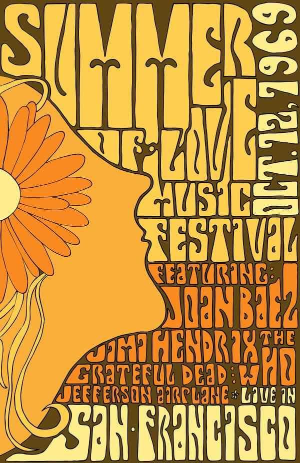 Summer Of Love Music Festival.....San Francisco 1969