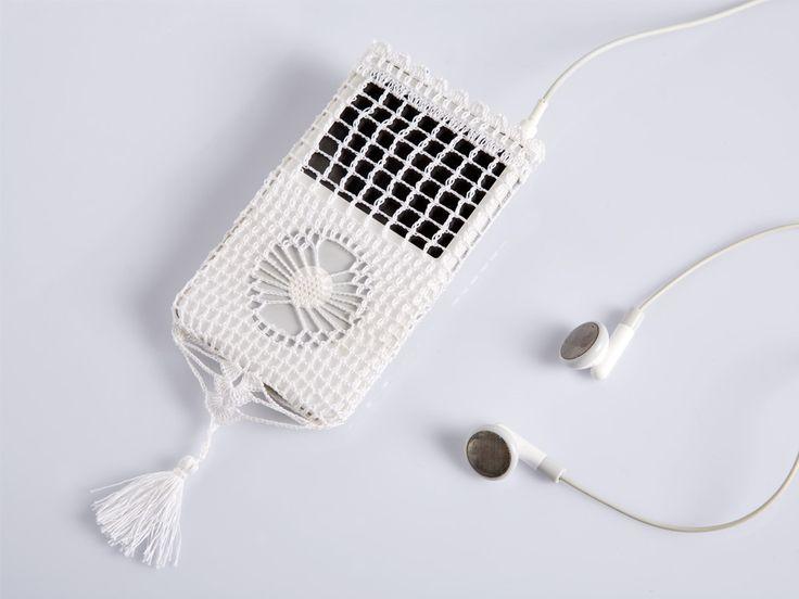 crochet iPod case