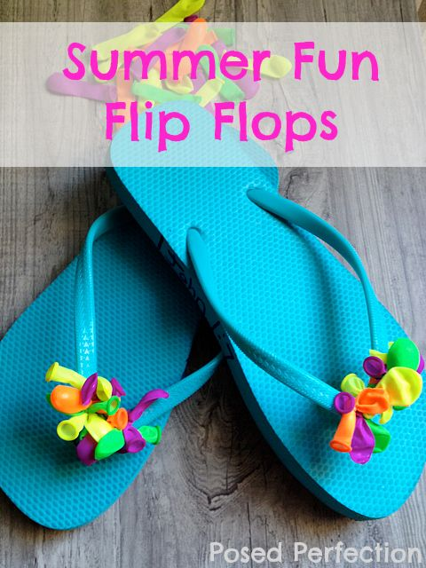 Summer Fun Flip Flops by Posed Perfection