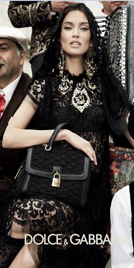 Bianca Balti for Dolce & Gabbana