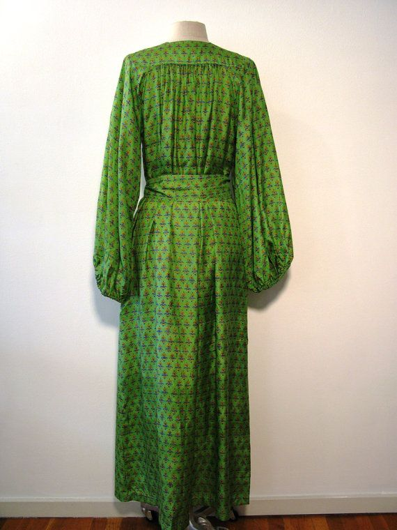 Jean Muir-London-Silk Floor Length Hippie by MartinMercantile
