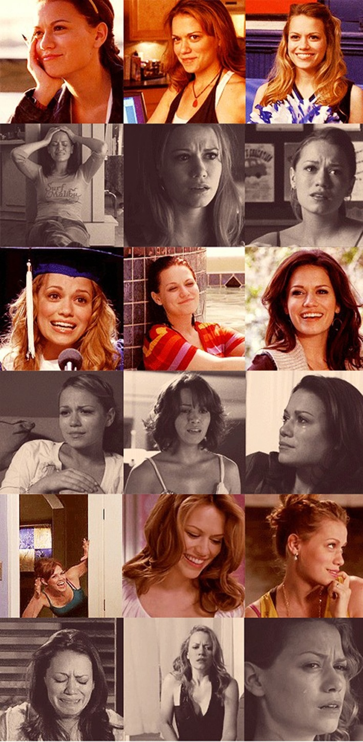 10. Haley is a very strong person, because she's been through a lot of things in life and a lot happened while she was still young.