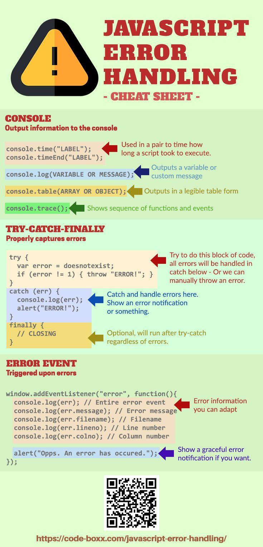 Basic Javascript Error Handling