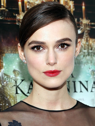 Get the look: Keira Knightley's stunning old Hollywood makeup