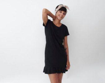 Vestido con espalda abierta de lápiz / / pajarita por ANNAKSHOP