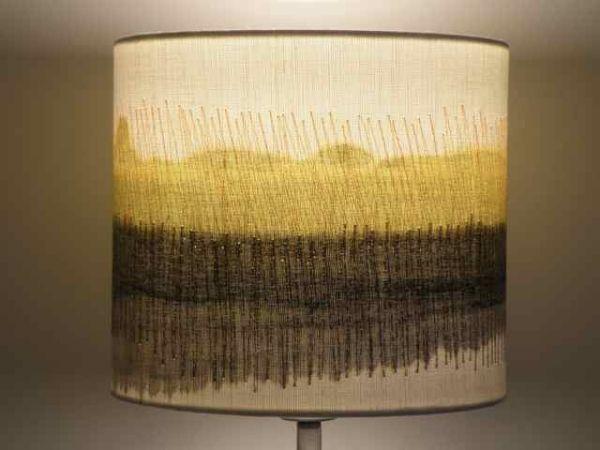 Handmade Lampshades – Yellow | Dionne Swift