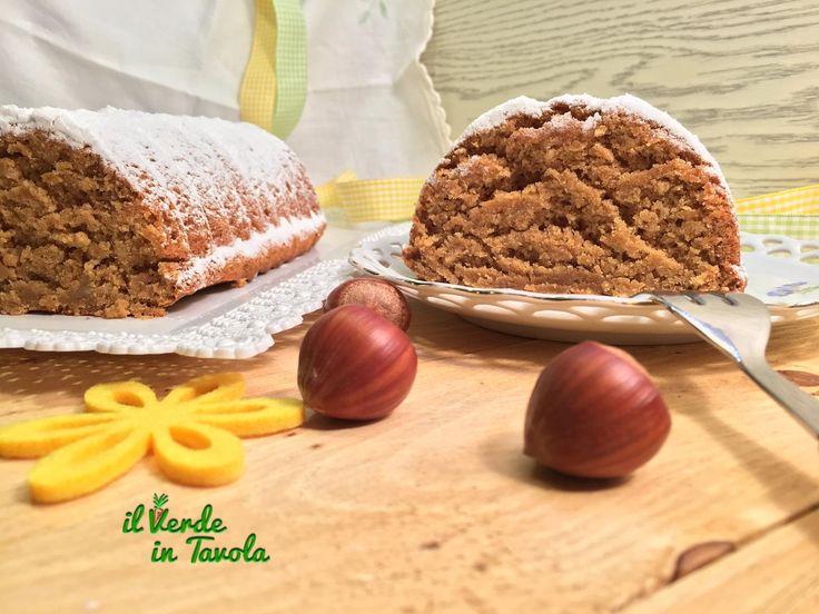 Amor polenta vegano con banane e nocciole - videoricetta - Il Verde In Tavola