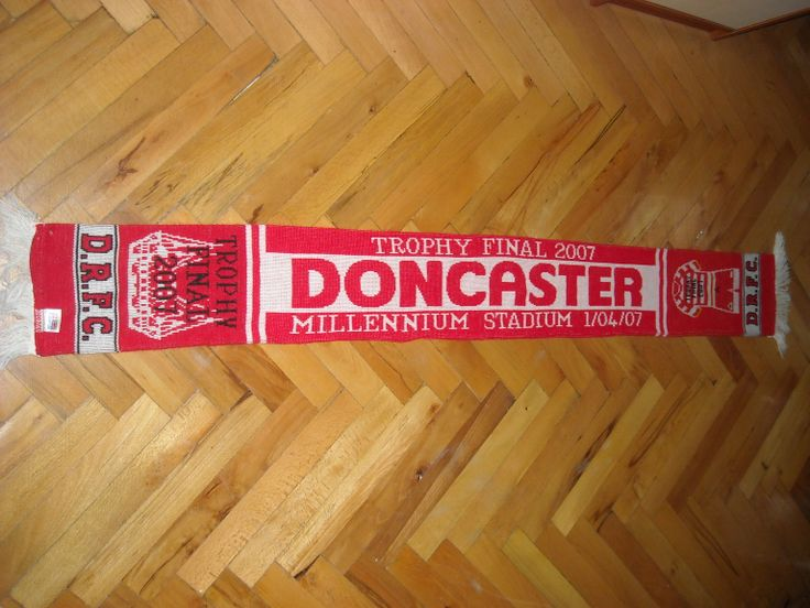 Doncaster FC Buy it from www.ScarvesForSale.eu