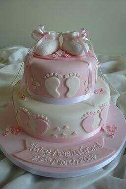 Baby Shower Cakes With Fondant | Oltre 1000 Idee Su Torte Per Il Baby Shower  Su