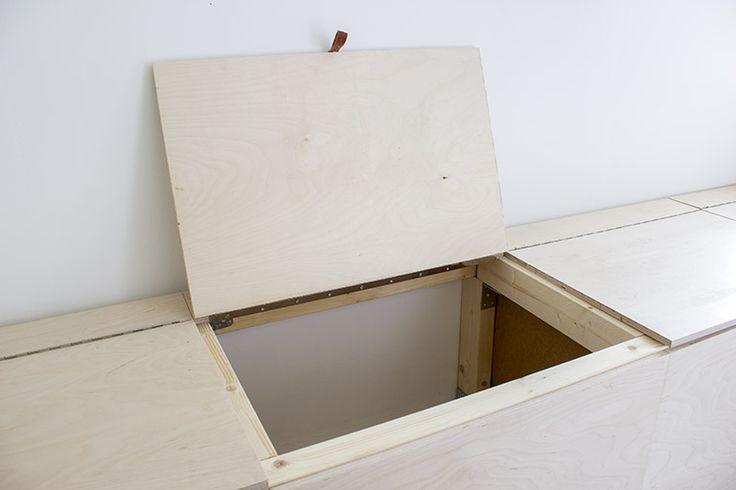 DIY kenkäloota vanerista / DIY shoebox from plywood - kotoisin