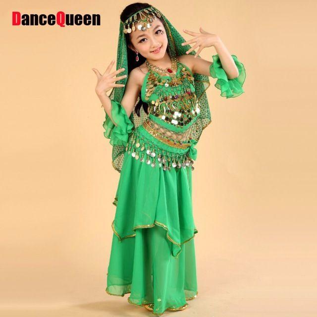 Arabian dance dress in yellow salwar