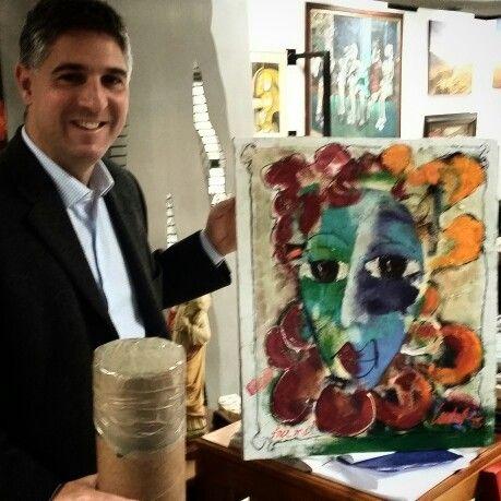 Own a Laubar painting. ...