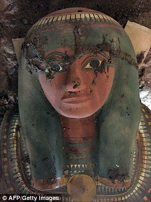 Spanish archaeologists discovered a mummy in 'very good condition' near Luxor. Tomb probably dating from between 1075-664 BC, on west bank of Nile river 700 kilometres (435 miles) south of Cairo.Mummy had bound with linen stuck together with plaster. In brightly coloured wooden sarcophagus buried near temple from 4rth-millennium warrior king Thutmose III.