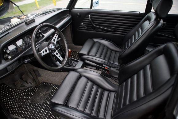 1973 BMW 2002tii For Sale Schwartz Black Interior