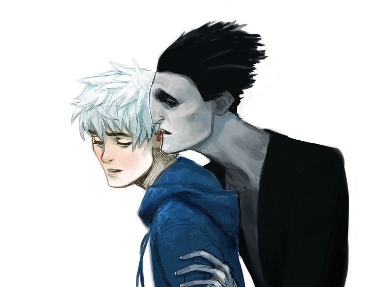 jack frost and pitch black kiss - photo #15