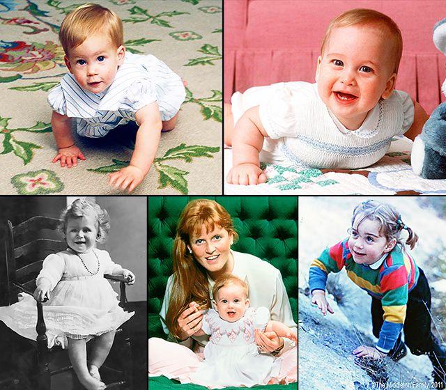 Royal Family Baby Photos - Us Weekly