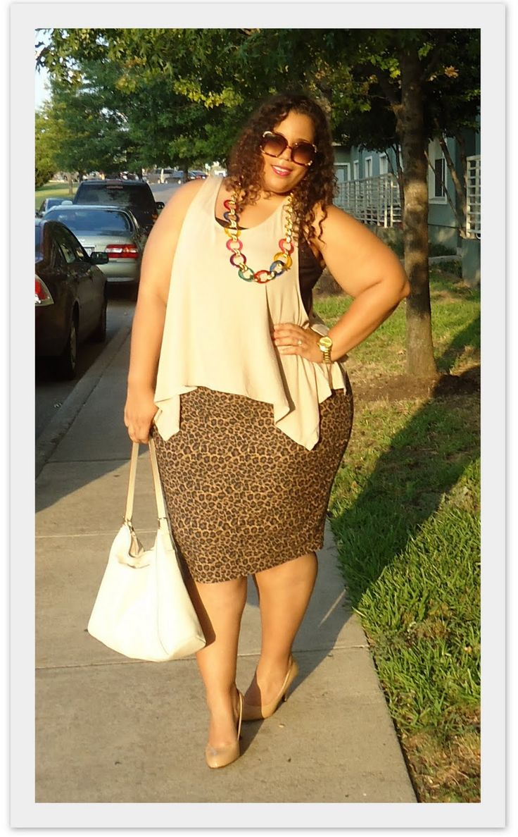 GarnerStyle | The Curvy Girl Guide: Outfit of the Day: In my B-Boy Stance