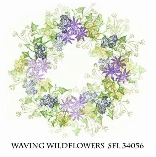 Stempelset 'Waving Wildflowers'  Design: Rubber Stamp Tapestry